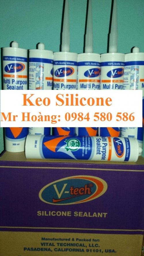 Keo Silicone V-tech