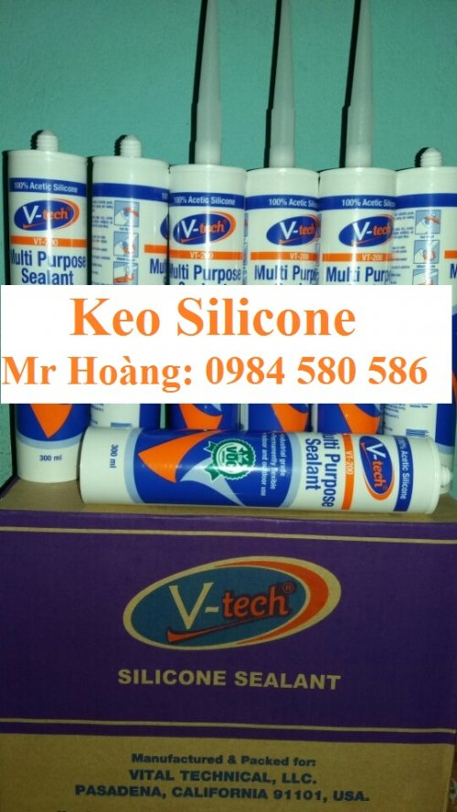 Keo Silicone Vtech